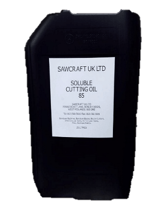 Soluble cutting oil 85 for bandsaw machines