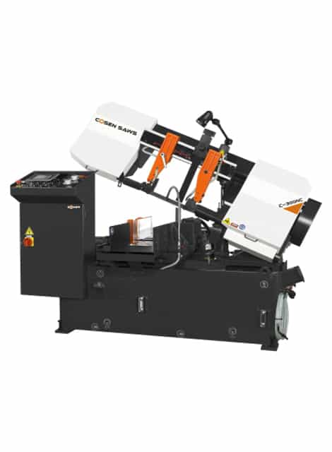 Cosen Horizontal C-300NC automatic cutting bandsaw