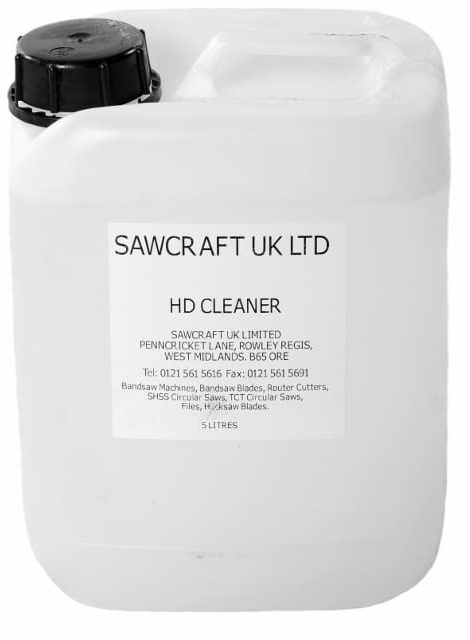 HD Cleaner for Bandsaw Machines