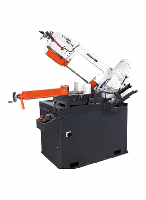 Cosen MH-350DM manual mitre cutting bandsaw machine