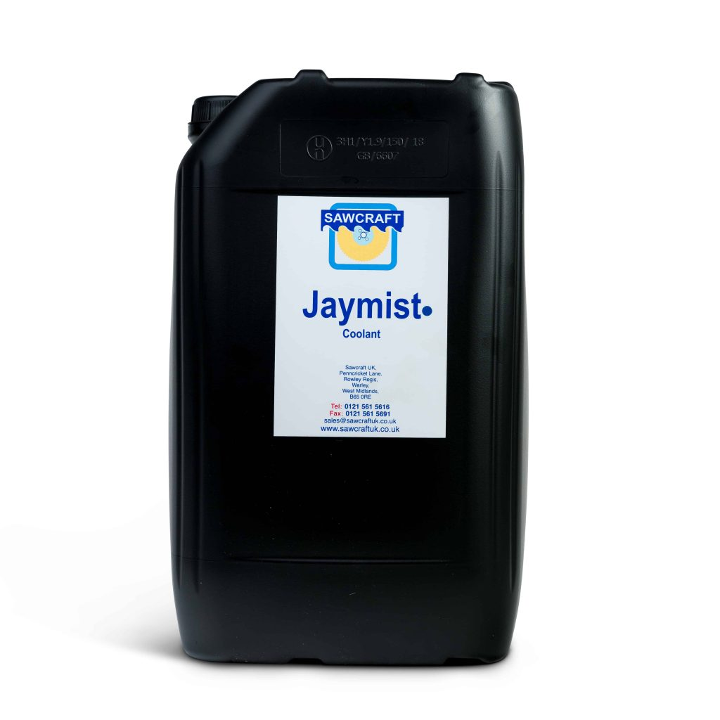 Jaymist spray cutting oil for bandsaw machines