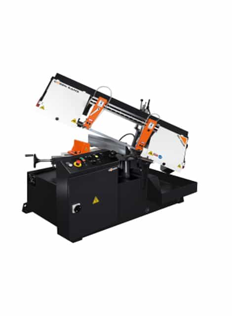 Cosen SH-460M semi automatic mitre cutting bandsaw machine