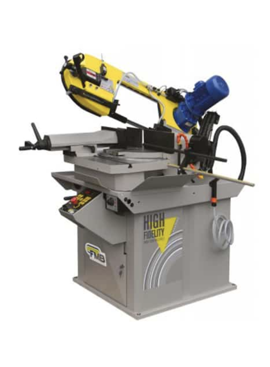 Calipso Semi Automatic Double Mitre Cutting Bandsaw Machine