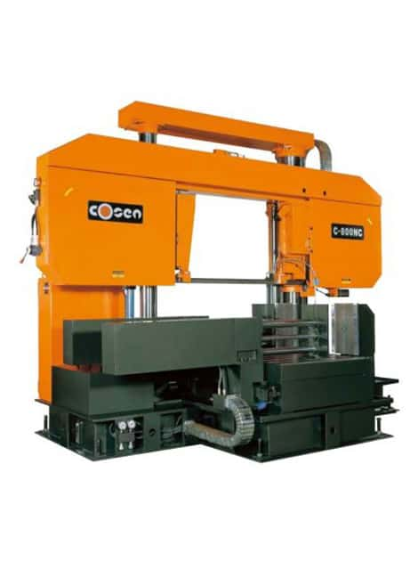 Cosen C-800NC fully automatic bandsaw machine