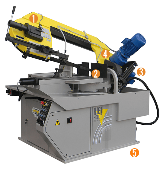 Pegasus+ G+ VHZ Manual Mitre Cutting Bandsaw Machine
