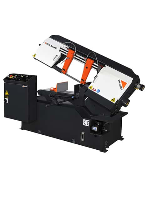 Cosen SH-250R semi automatic bandsaw machine for metal cutting