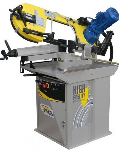 Manual mitre cutting bandsaw